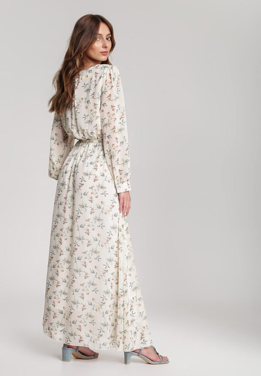 Kremowa Sukienka Guinerinias