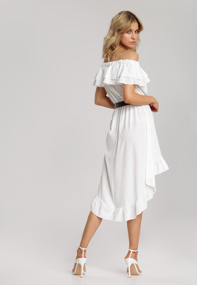 Biała Sukienka Elilophi
