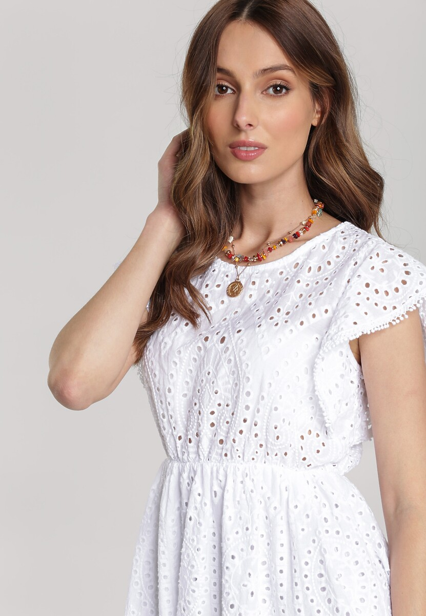 Biała Sukienka Oceariel