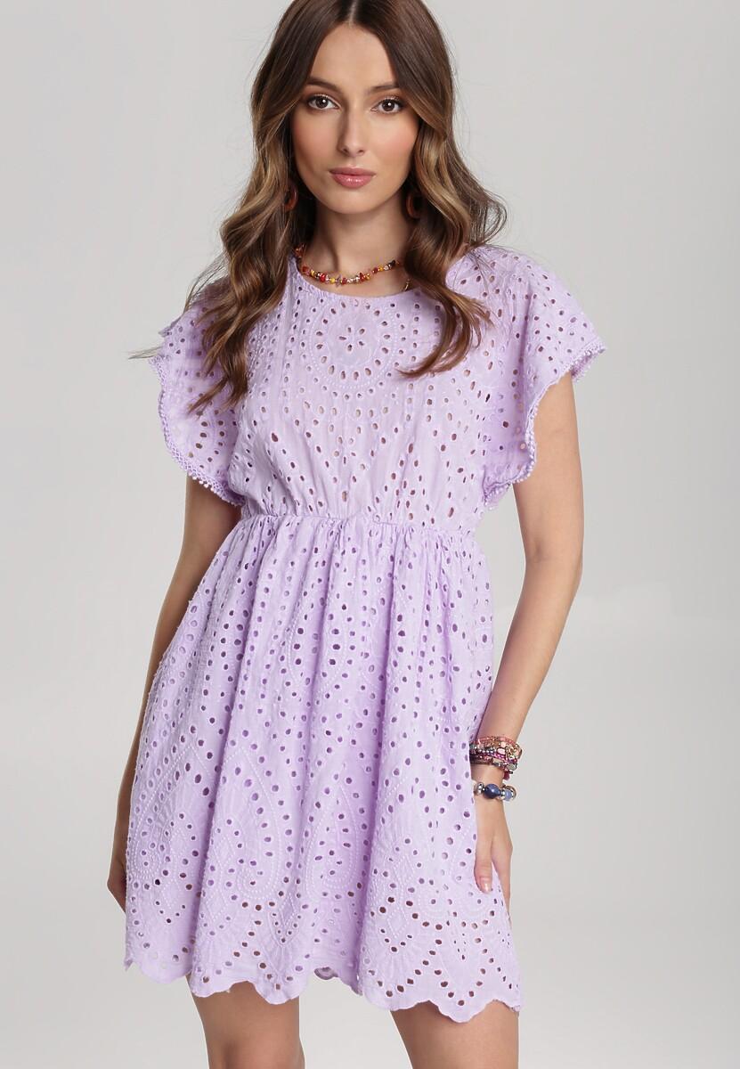 Lawendowa Sukienka Oceariel