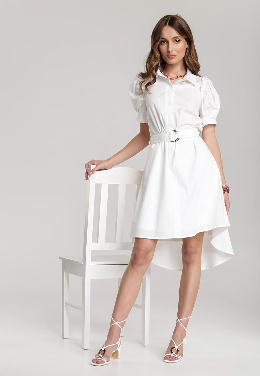 Biała Sukienka Nedadoe
