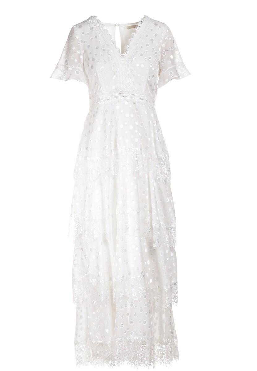 Biała Sukienka Ariebel