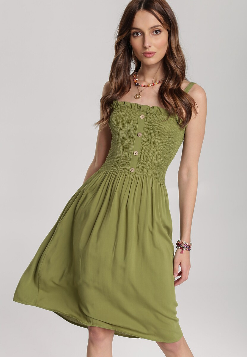 Zielona Sukienka Arrilia