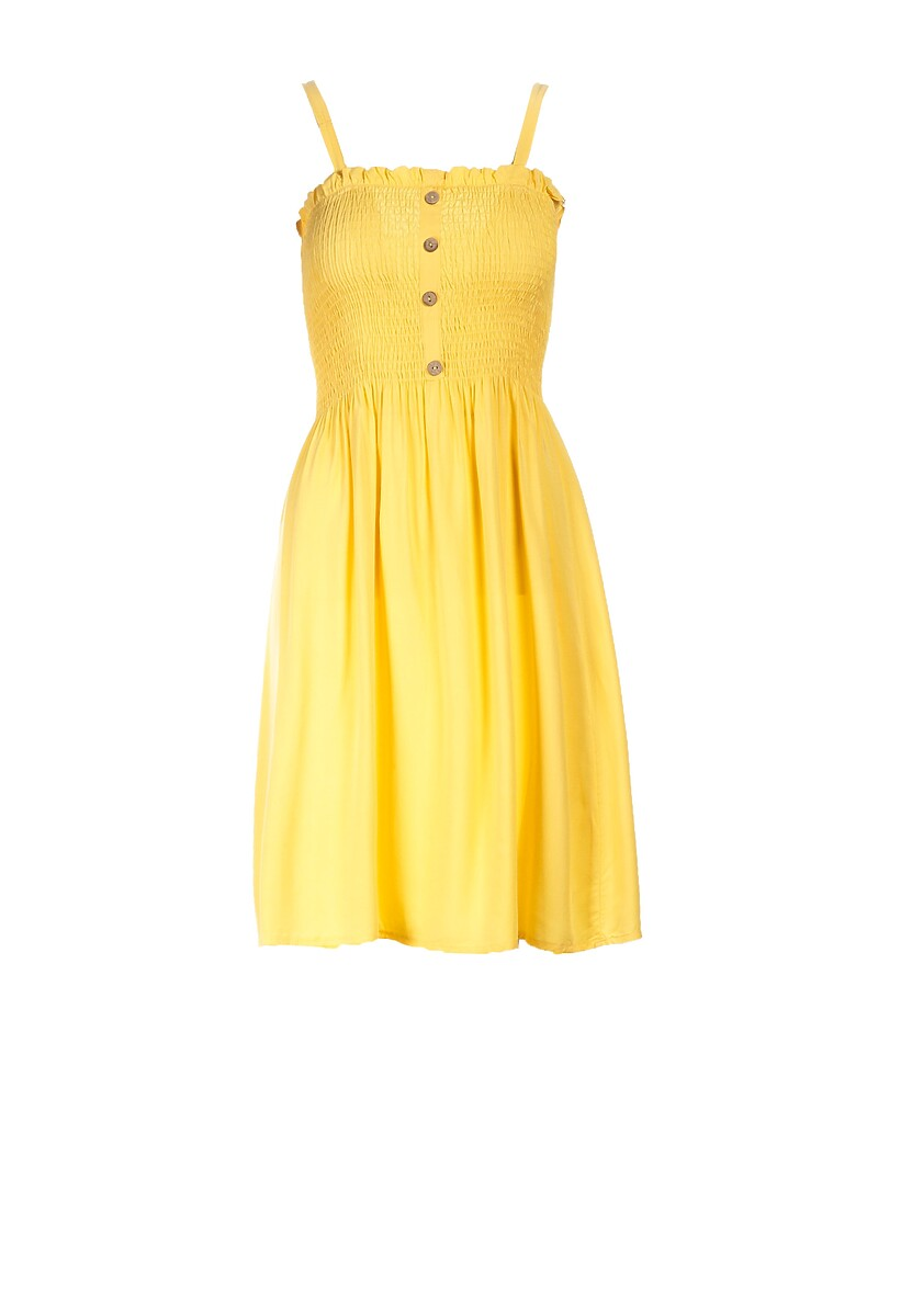 Żółta Sukienka Arrilia