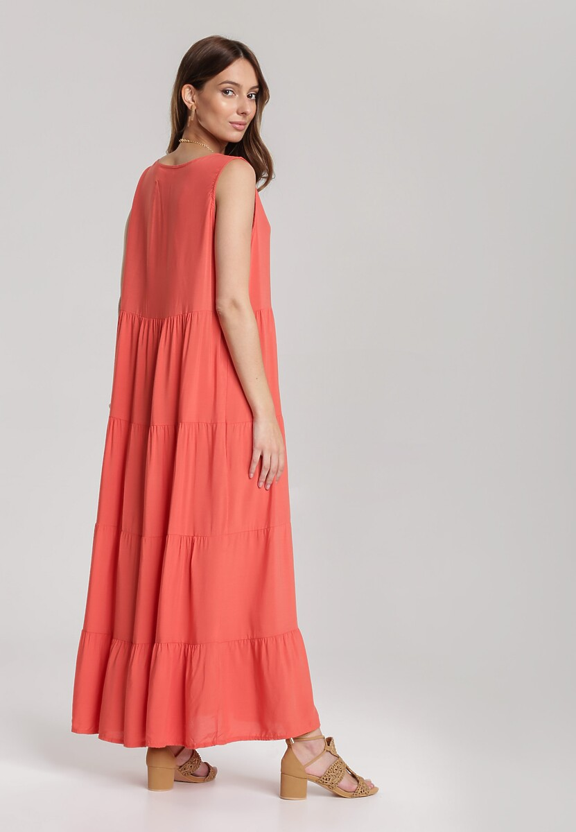 Łososiowa Sukienka Kalithusa