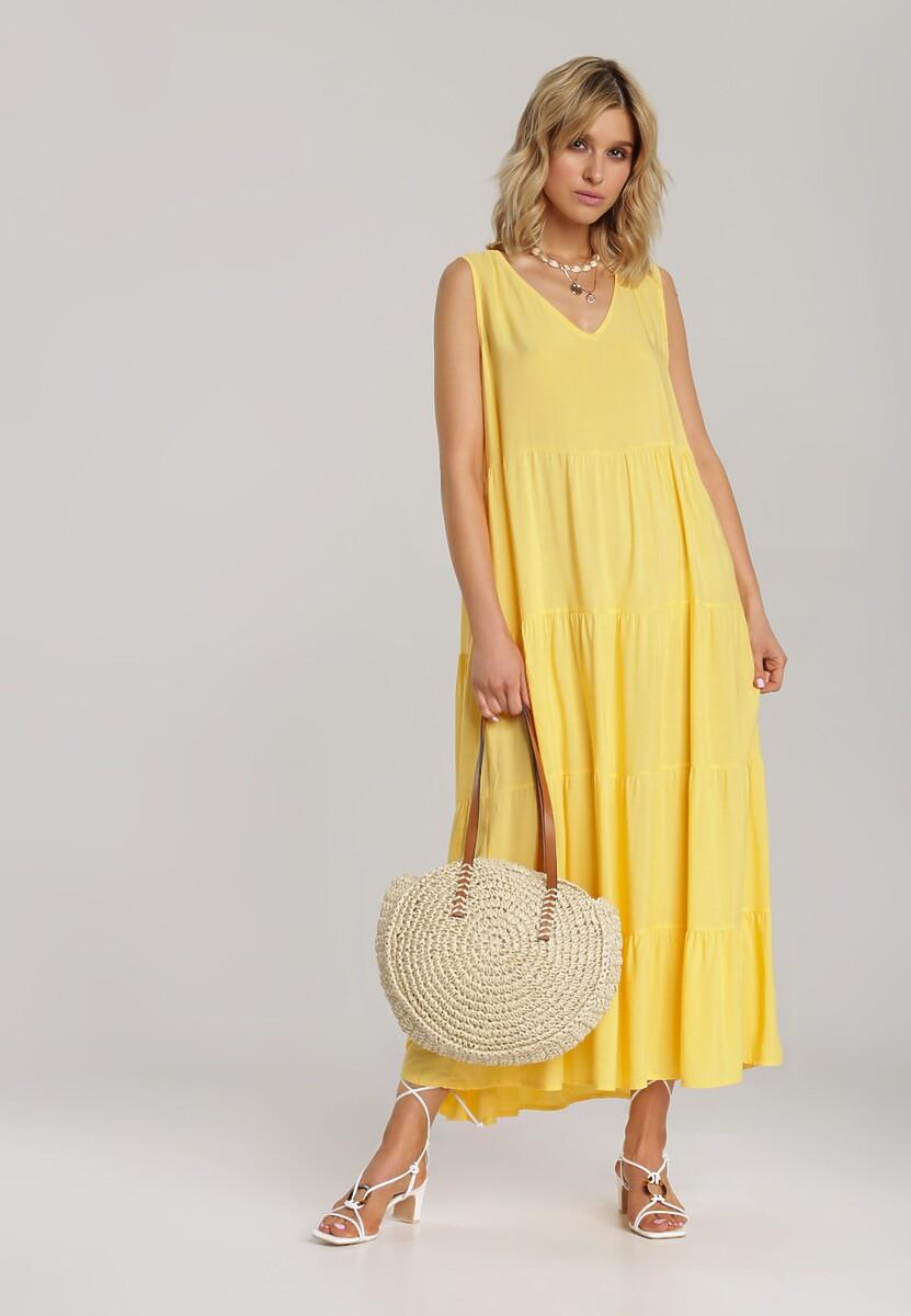 Żółta Sukienka Kalithusa