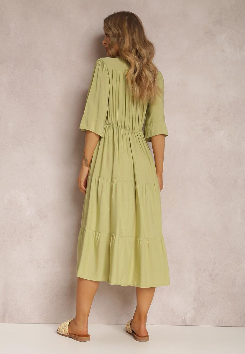 Jasnozielona Sukienka Kalligale