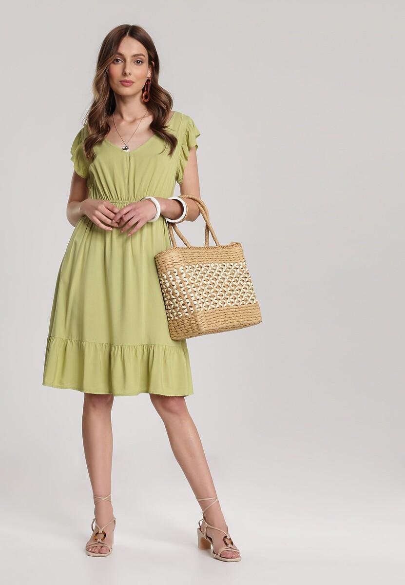 Jasnozielona Sukienka Asteodone W Www Renee Pl