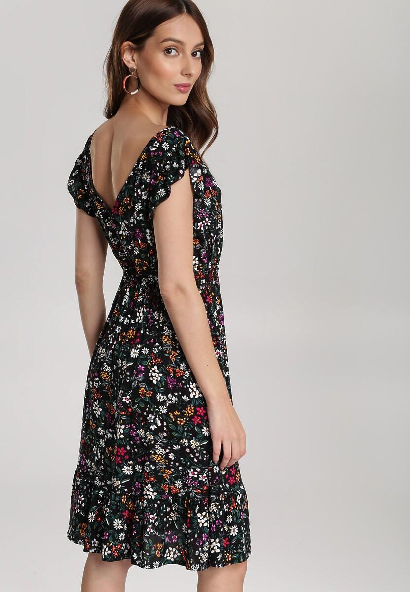 Czarna Sukienka Aqealyn