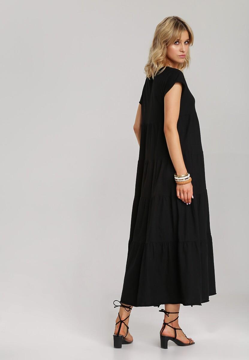 Czarna Sukienka Calicine