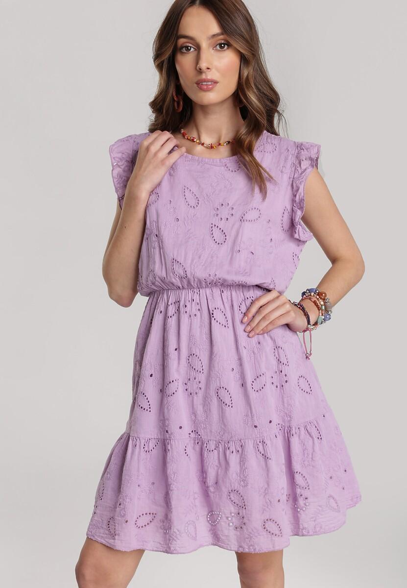 Lawendowa Sukienka Daphidorise