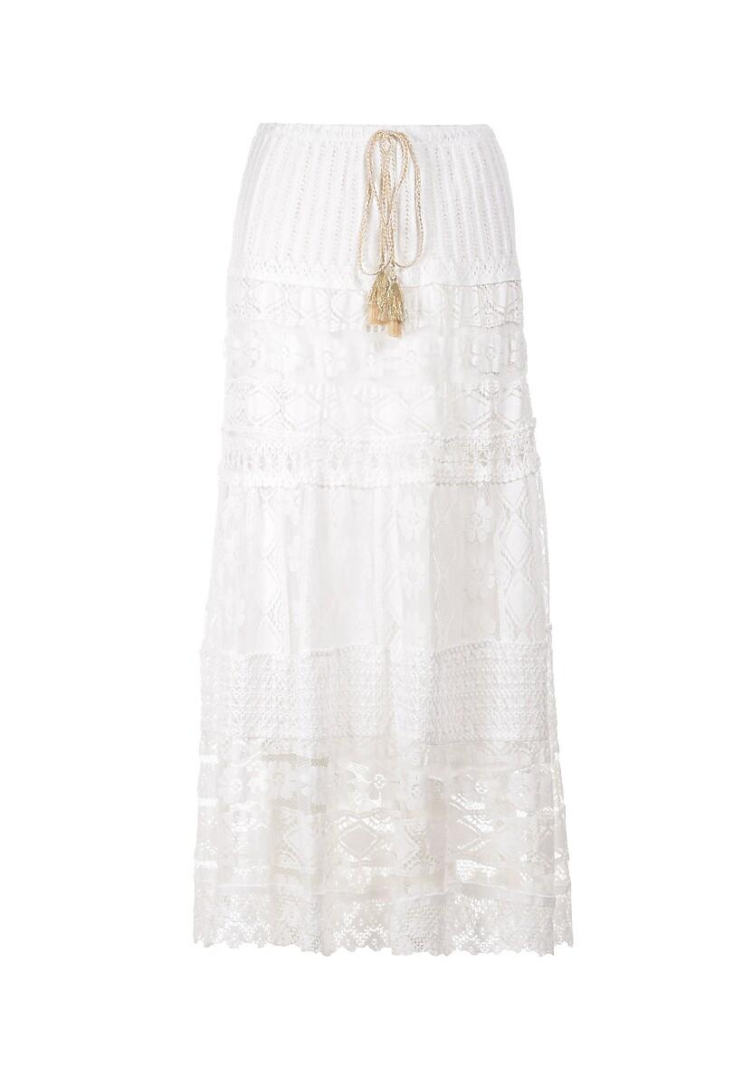 Biała Spódnica Kaireida