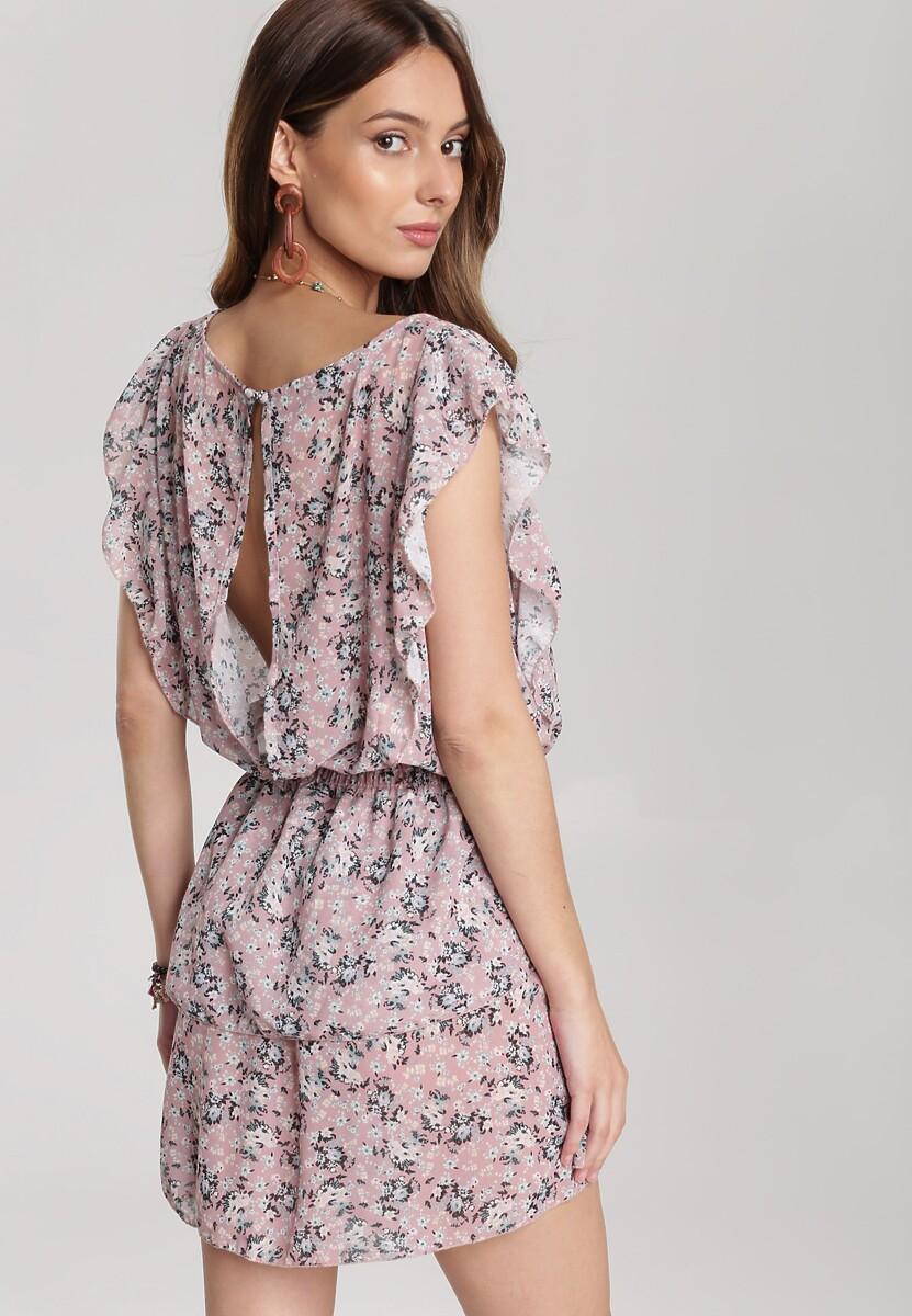 Różowa Sukienka Kaliphia