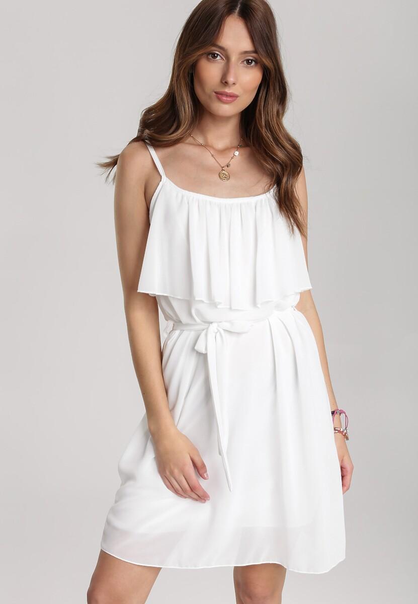 Biała Sukienka Nahlyn