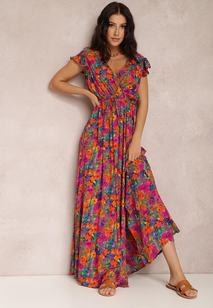Fuksjowa Sukienka Calyniassi W Www Renee Pl
