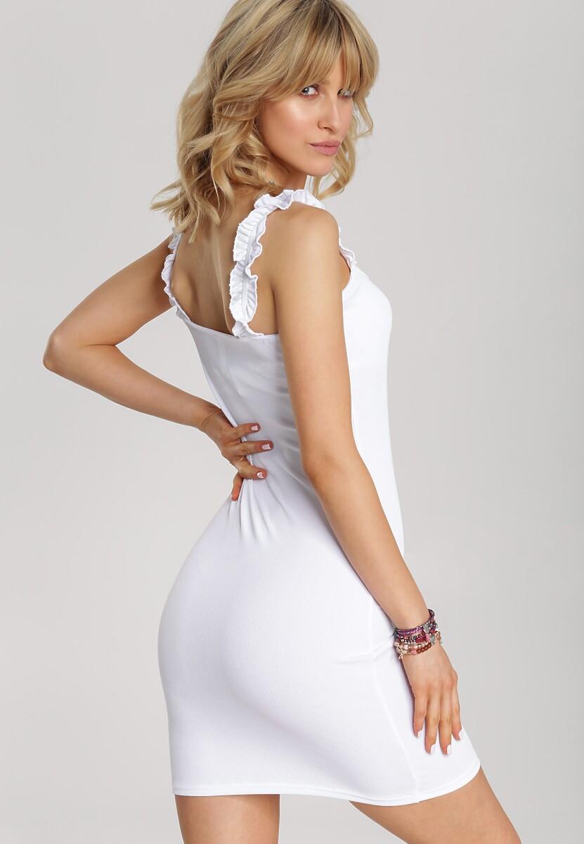 Biała Sukienka Mellorena