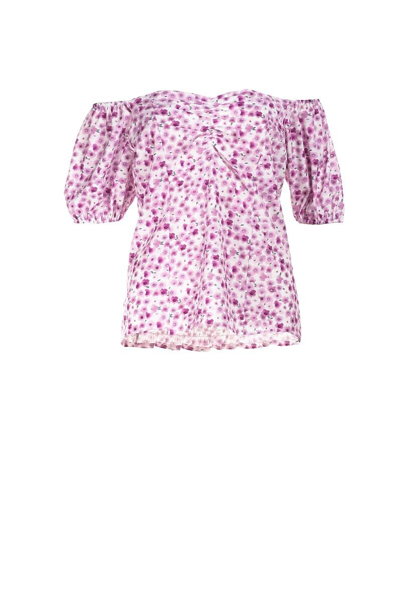 Różowa Bluzka Nesasesis