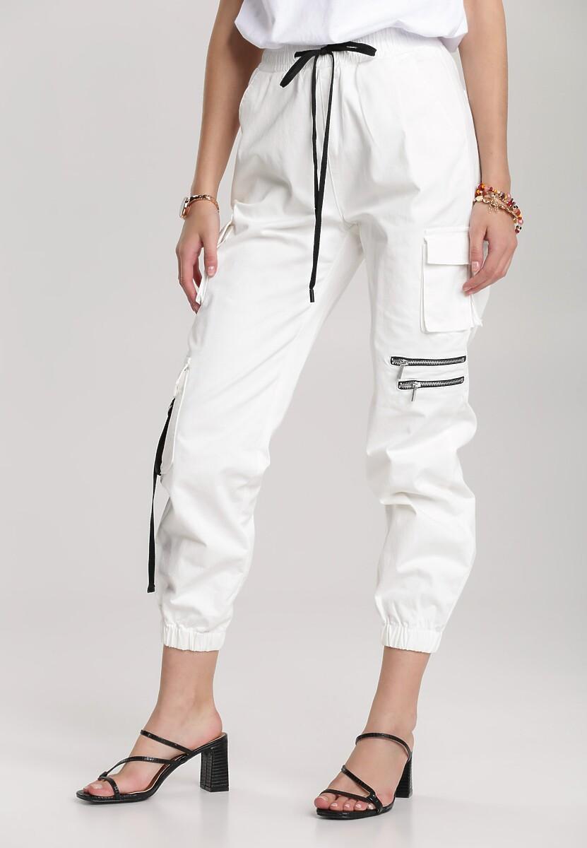 Białe Spodnie Viviegune