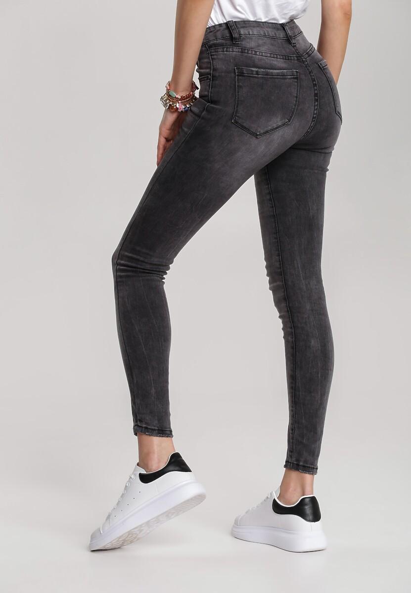 Czarne Spodnie Skinny Arrielina