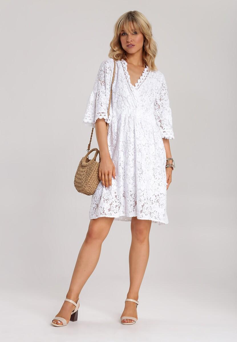 Biała Sukienka Dalisana