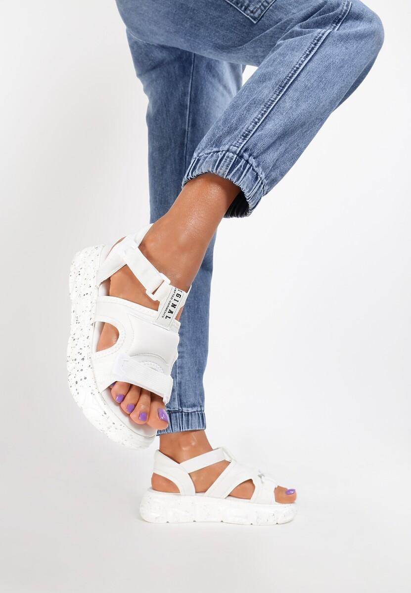 Białe Sandały Limothylia