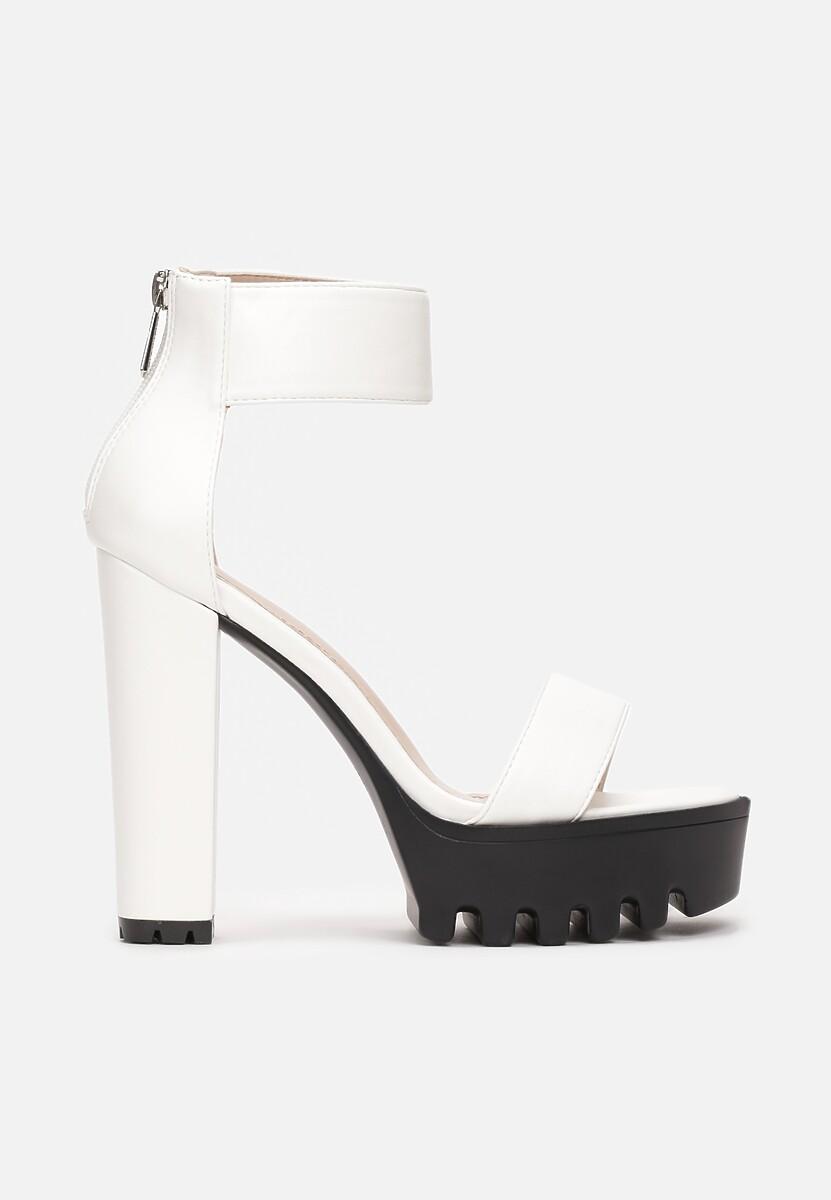 Białe Sandały Eviria