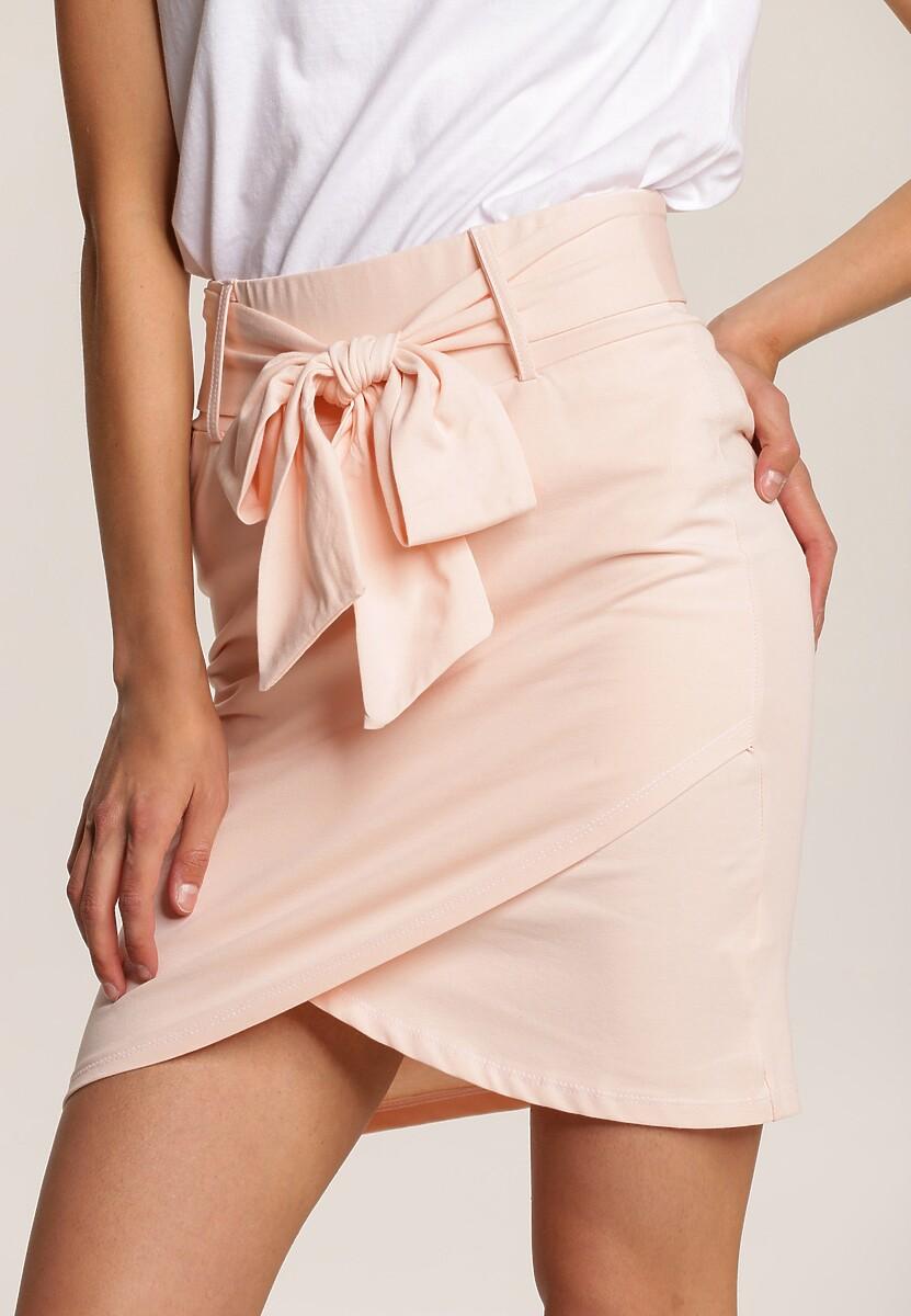 Jasnoróżowa Spódnica Callalori