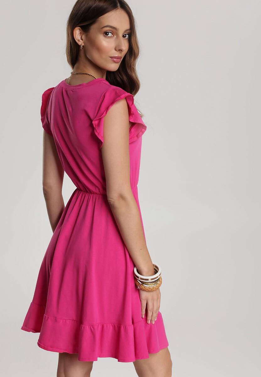 Fuksjowa Sukienka Thalarina