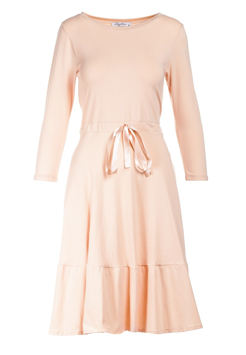 Łososiowa Sukienka Echirose