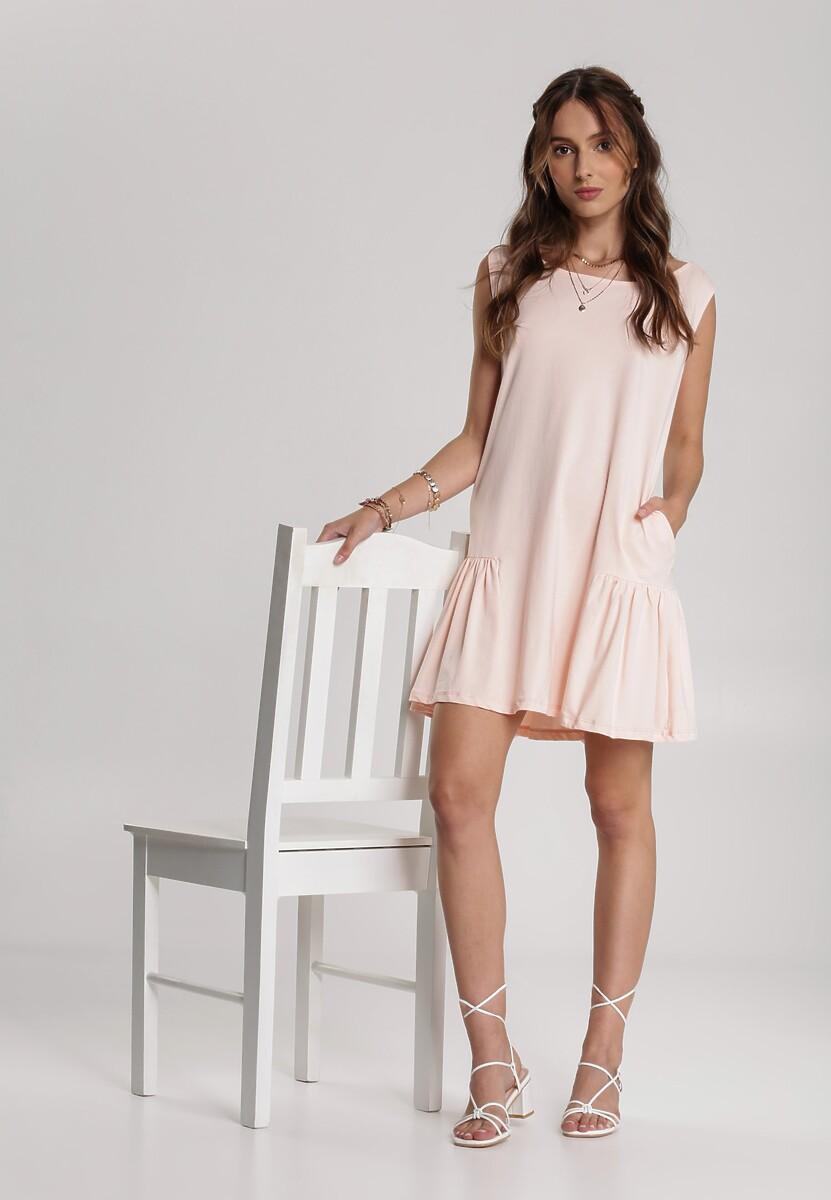 Jasnoróżowa Sukienka Aqualise