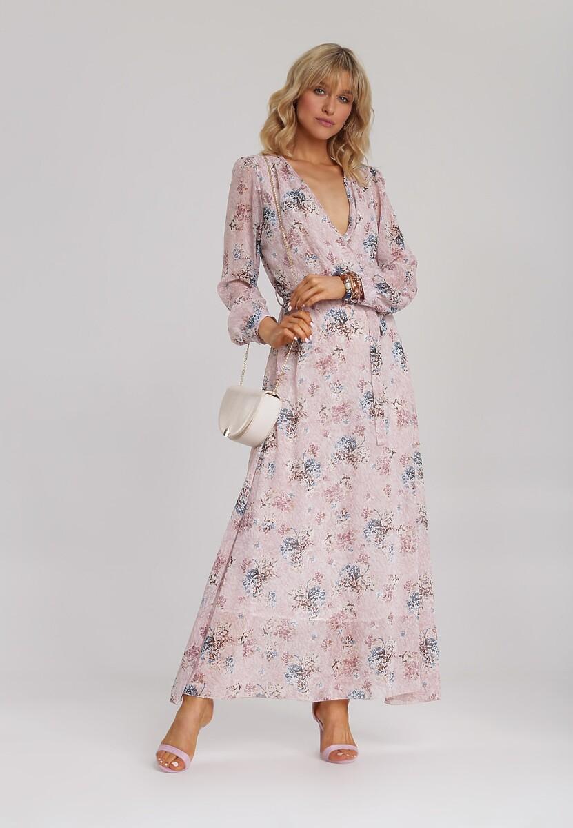 Różowo-Niebieska Sukienka Guinerinia