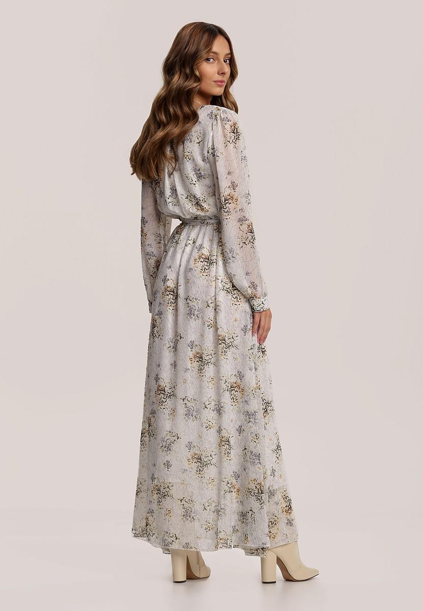 Jasnoszara Sukienka Guinerinia