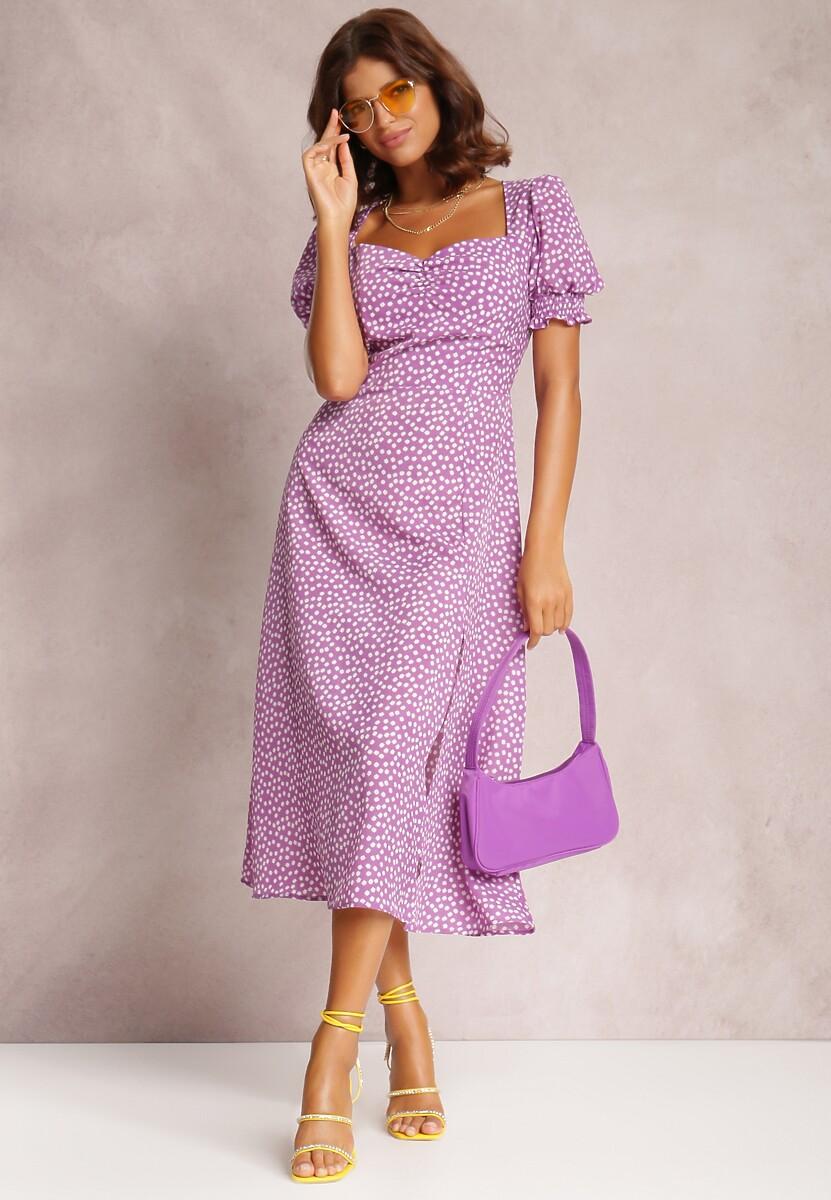 Lawendowa Sukienka Melorith