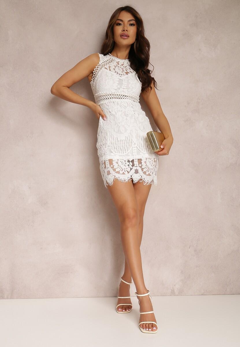 Biała Sukienka Zeligoria