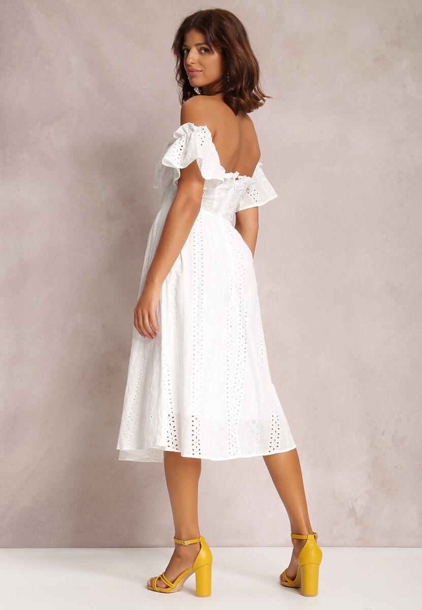 Biała Sukienka Oarathia