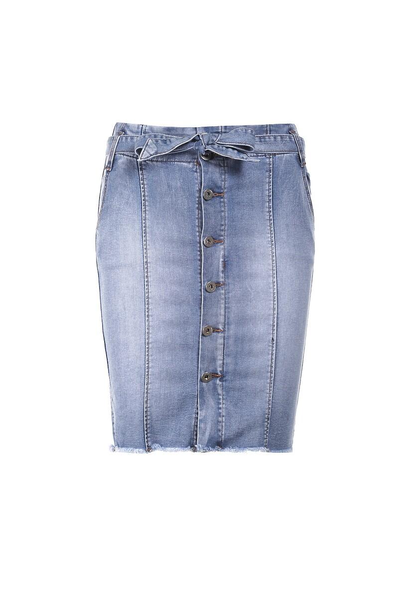 Niebieska Spódnica Calydanea