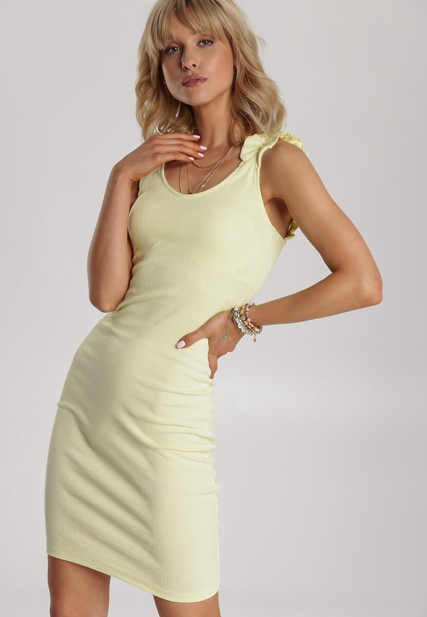 Żółta Sukienka Echilyse