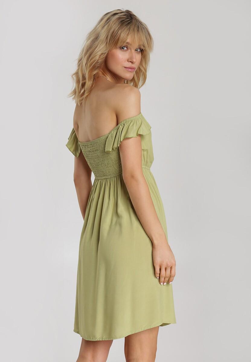 Zielona Sukienka Abalaeno