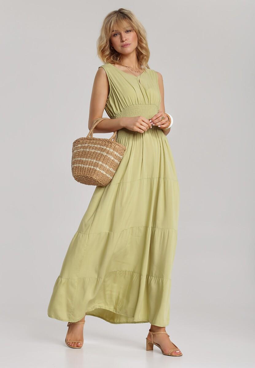 Zielona Sukienka Kalimoni