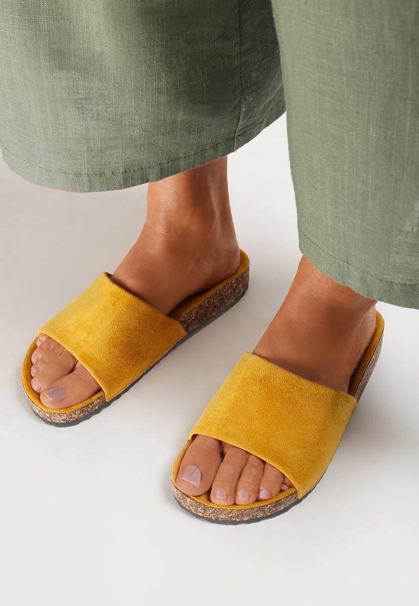 Żółte Klapki Anadenah