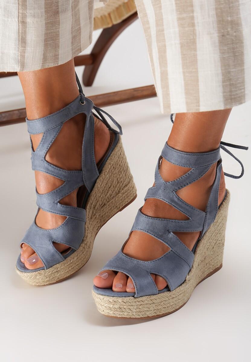 Niebieskie Sandały Raeleh