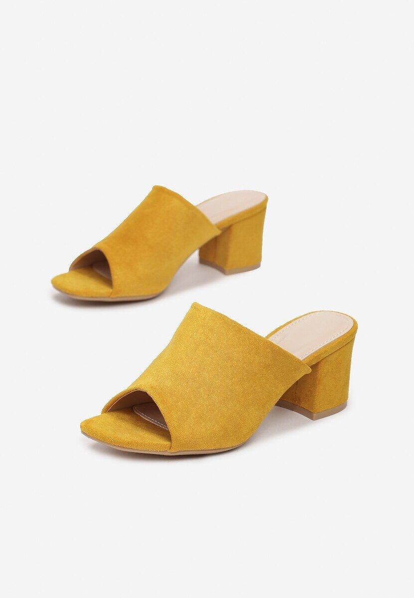 Żółte Klapki Raelena