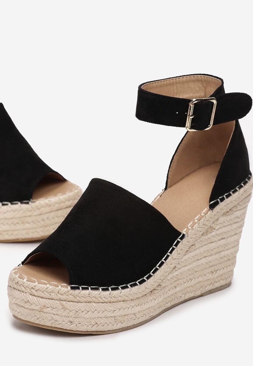 Czarne Sandały Arrilin