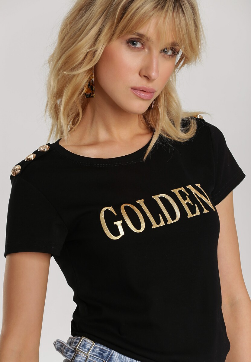 Czarny T-shirt Elitai