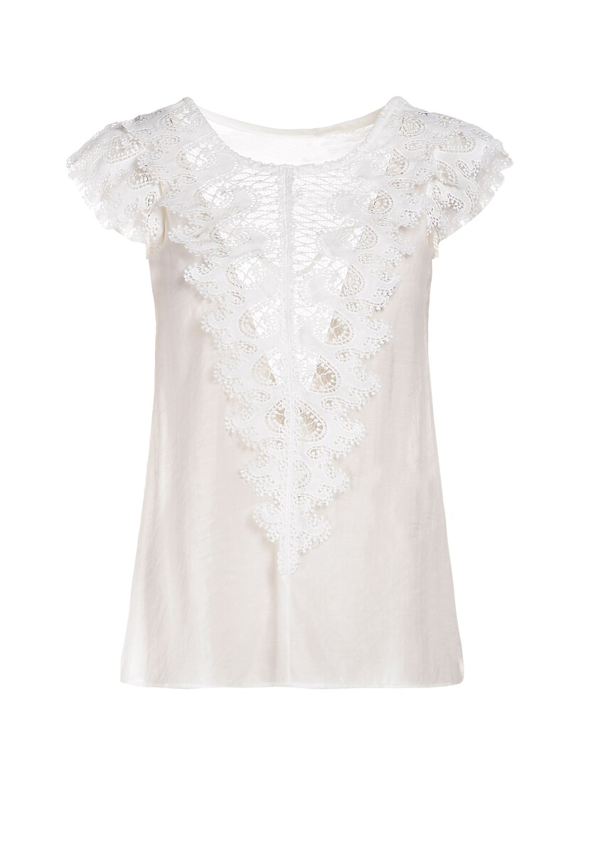 Biała Bluzka Aeganora