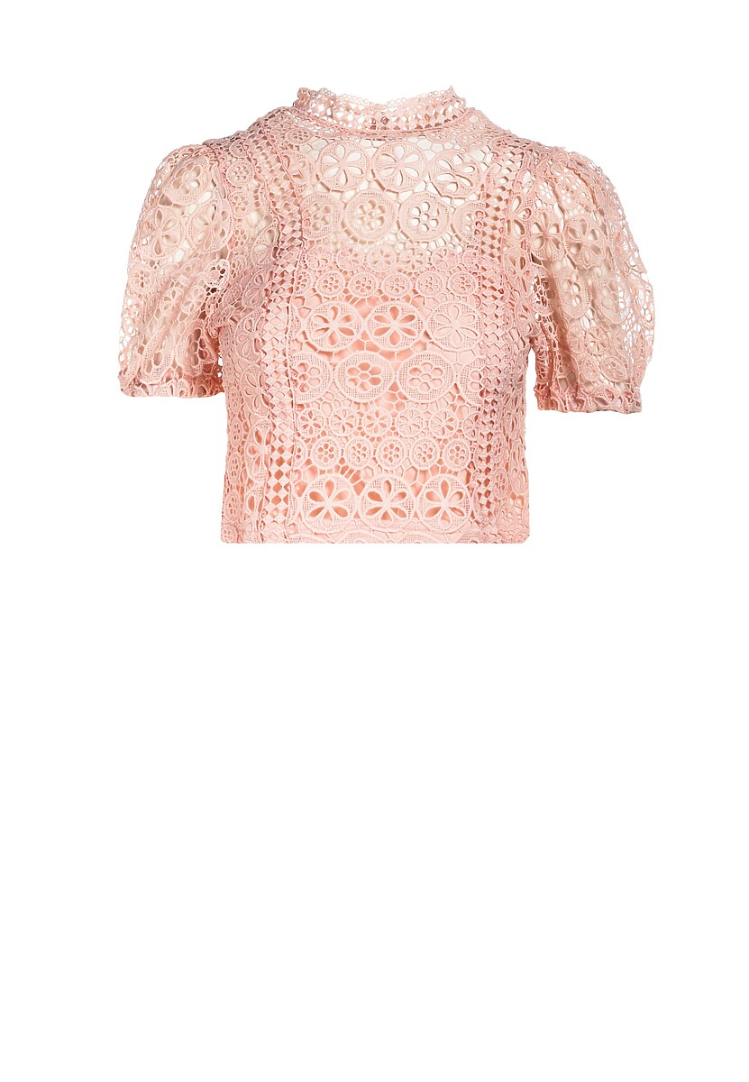 Różowa Bluzka Theminiassi