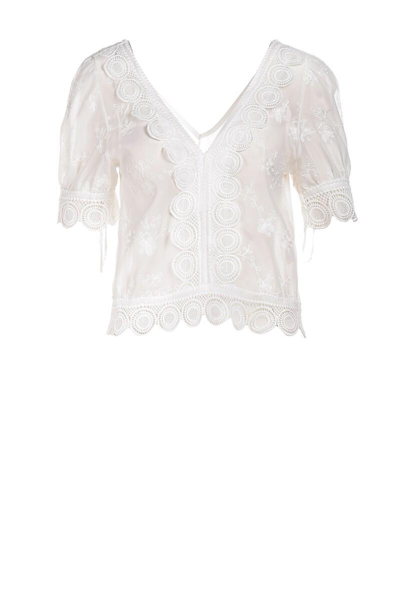 Biała Bluzka Aigathylia