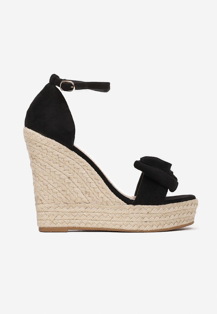 Czarne Sandały Coraegune