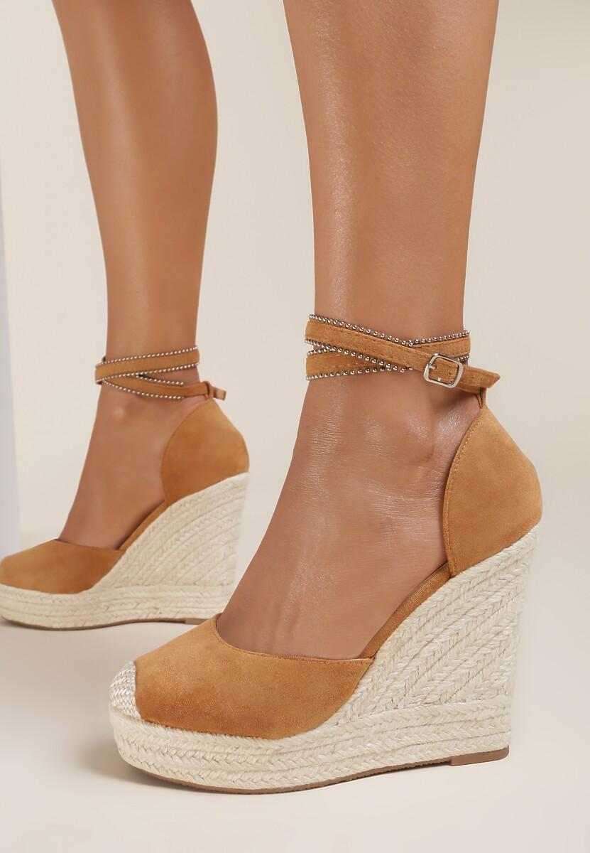 Camelowe Sandały Corealia