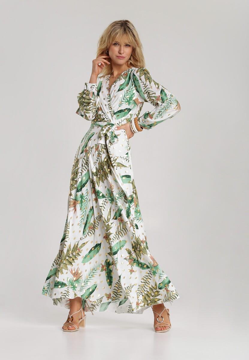 Biała Sukienka Jenierin